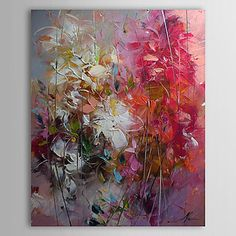 pintados à mão pintura a óleo abstrata, com quadro esticado 1303-ab0415 – BRL R$ 156,72