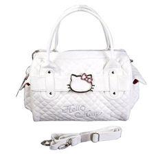 Hello Kitty Shopping Bag Handbag Tote Purse White - http://handbags.apparelique.com/womens-handbag/hello-kitty-shopping-bag-handbag-tote-purse-white/ [ List Price: $85.20 -  Price: $16.90 - You Save: $68.30 (80%)]