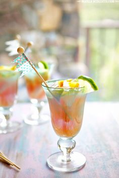 Get in the mood for your Caribbean cruise with this tropical cocktail recipe.