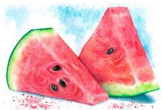 Juicy watermelon by Darbaeva