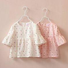 Resultado de imagen de blusa para niña moda