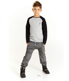 Albakid Light Grey Hollow T-Shirt - Little Mooshoo Cool Boys Clothes, Winter Day, Cold Day, Cute Boys, Soft Fabrics, Boy Outfits, Kids Fashion, Grey, Long Sleeve