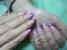 #SvetlanaVegele #NailArt #NailDesign #French #White #Pink #Manicure #gorgeous