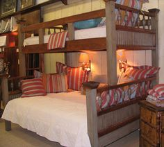 Architectural Twin over Full Bunkbed