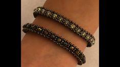 Cynthia - Welcome Beaded Braclets, Beaded Bracelets Tutorial, Seed Bead Bracelets, Handmade Bracelets, Seed Bead Tutorials, Beading Tutorials, Beading Patterns, Beaded Jewelry Designs, Bead Jewellery