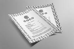Portfolio project: Coco price list | Beehive Green Design Studio