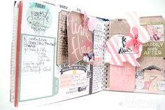 cut-out elements for journal pages - heidi swapp