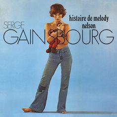 Serge Gainsbourg Histoire De Melody Nelson US vinyl LP album (LP record) Serge Gainsbourg, Concept Album, Vinyl Lp, Rock Bands, Interview, Stylish, Music, Sleeves, How To Wear