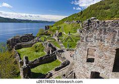 Colección de foto - escocia, tierras altas, Inverness., el, restos ...