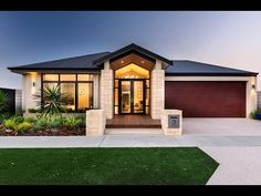 Search and compare new home designs in Victoria - Prices, Floorplans, Inclusions, Facades, Display Homes and more. Modern House Plans, Modern House Design, Carlisle Homes, Kerala House Design, Facade House, House Facades, Display Homes, Story House, New Home Designs