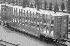 National steel railcar | : National Steel Car Ltd.: 73-Foot Drop Deck Centerbeam Car: Railroad ...
