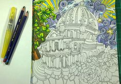 1000 Images About Peta Hewitt Colouring Tutorials On