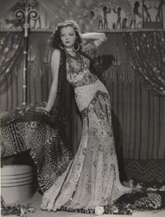 Sylvia Sidney - a better example of the skirt concept that was posted prior