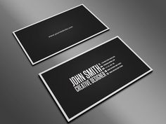 best visiting card designs - Google Search