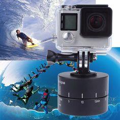 Time lapse 360 Degree Auto Rotate Camera Tripod for Xiaoyi Gopro Camera SLR (Cameras)