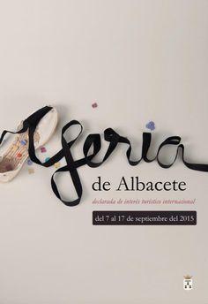 Cartel Feria de Albacete 2015, alpargata