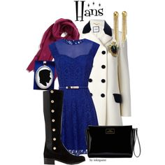 Disney outfit inspired by Hans from Frozen. You can find the Hans silhouette pendant here: www.inknpaint.etsy.com.