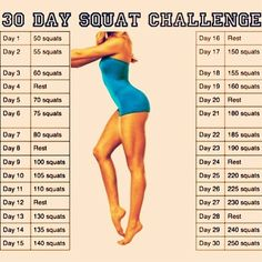 Squat Challenge -- Im on day 5 and can see a difference its crazy!