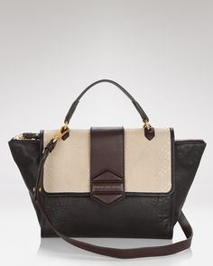 MARC BY MARC JACOBS Satchel - Flipping Out Top Handle - MARC BY MARC JACOBS - Designer Shops - Handbags - Bloomingdale's