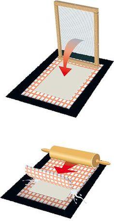 Papier selber machen - Basteln mit Kindern - [GEO]