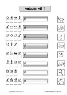 Materialwerkstatt: Deutsch Anlaute