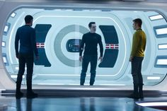 REVIEW: 'Star Trek Into Darkness' takes low-brow entertainment to a higher level. http://ti.me/10ut7IA  (Image: Paramount Pictures/Skydance Productions)