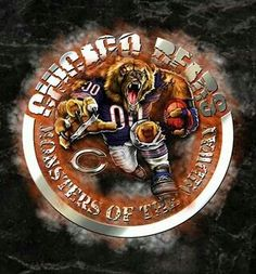 ..... Chicago Bears Pictures, Chicago Bears Baby, Chicago Bears Wallpaper, William Perry, Walter Payton, Bears Football, Tough Guy, Logo Images, Football Season