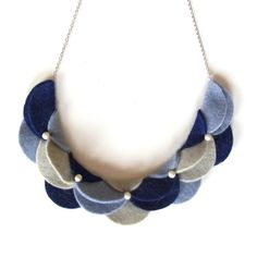 An Meru Meru Necklace B by HOMAKO on Etsy