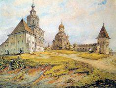 Андроников монастырь, Москва. Сухов.