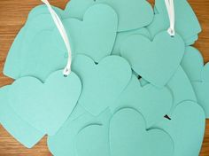 Tiffany Inspired Guest Tags :)