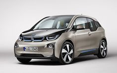 German car brand BMW has launched its first fully electric production car, the BMW based on a concept car presented at the Frankfurt Motor Show in Bmw Autos, Frankfurt, 2016 Bmw I3, Bmw Electric Car, Flying Vehicles, Bmw Vehicles, Fit Car, Car Covers, Car Brands