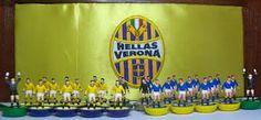 Hellas Verona home and away subbuteo teams