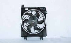 AC Condenser Cooling Fan Shroud Kit TYC 610480 1996-2001 Hyundai Tiburon Elantra #TYC #Hyundai #RacingWorks #Tiburon #Elantra #Repair #Maintain #Upgrade #Sale #Parts