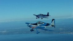 Today was a good day. Photo flight with local RV-8 and...