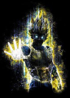 Prince Vegeta inspired by the Dragon Ball Z anime/manga series goes well together with my Goku painting as well, just saiyan. Dragon Ball Z, Goku Dragon, Manga Anime, Anime Art, Prince Warrior, Manga Japan, Marshmello Wallpapers, Android Art, Free Android