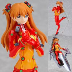AmiAmi [Character & Hobby Shop] | figma - Asuka Langley Shikinami: Test Plugsuit ver. (Evangelion: 2.0 You Can (Not) Advance)