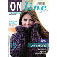 Strickanleitung ONline Stricktrends Herbst/Winter 2016 Ausgabe 44, 4,50 €