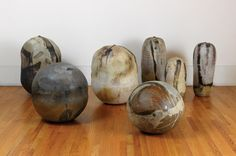 Toshiko Takaezu, clay forms