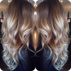 blonde balayage for brown hair