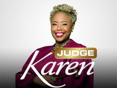 The best judge show ever in my humble opinion. I don't know why her show didn't make it.