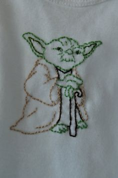 Yoda Stencil Template Star Wars Pinterest