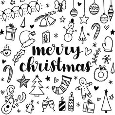 20 ideas for christmas decorations present doodles calligraphy doodles christmas journaling christmas doodles ideas calligraphy christmas scrapbook doodles holiday doodles Christmas Doodles, Merry Christmas Card, Christmas Art, Simple Christmas, Christmas Decorations, Merry Christmas Drawing, Easy Christmas Drawings, Xmas, Christmas Scrapbook