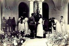 Imperial family in Livadia; 1914.