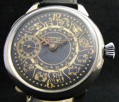 Omega-Zodiac-Antique-1911-Mens-Watch-Deco-DIAL