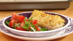 Baked Chicken with Herb-and-Cheese Breadcrumbs