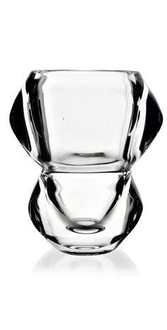 Rudolf Jurnikl, 1963, Heřmanova huť. Pattern number: 20077 Pressed Glass, Artist At Work, Czech Glass, Vases, Pattern, Number, Collection, Patterns, Model