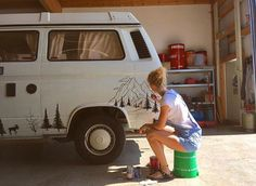 """6,825 Likes, 91 Comments - Vanlife Diaries (@vanlifediaries) on Instagram: """" @old.jeppi It's not just a van. It's a canvas. So many artistic individuals in this community are…"""""""