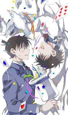 Magic Kaito, Conan Comics, Detektif Conan, Anime Guys, Manga Anime, Detective Conan Shinichi, Kaito Kuroba, Detective Conan Wallpapers, Kaito Kid
