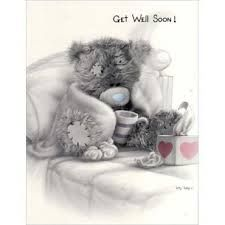 Tatty Teddy - Get well soon