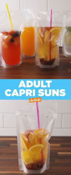 You Can Now Make Your Own Spiked Capri Sun Drinks - Capri Sun Pouches - Delish.com